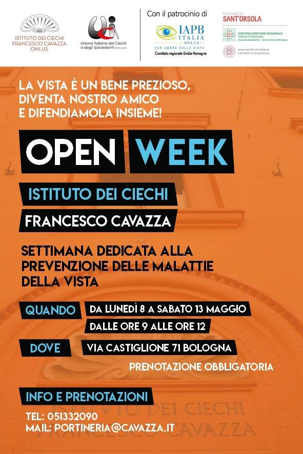 open week cavazza